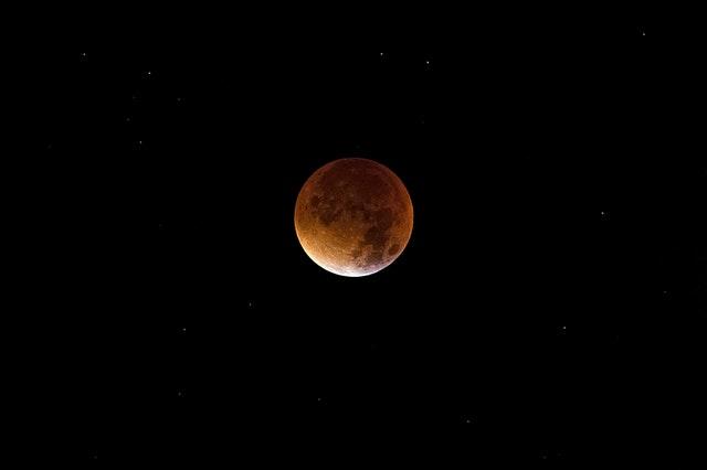 月食ブラッドムーン